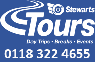 Stewarts Coaches Ltd | Tel: 0118 322 4655